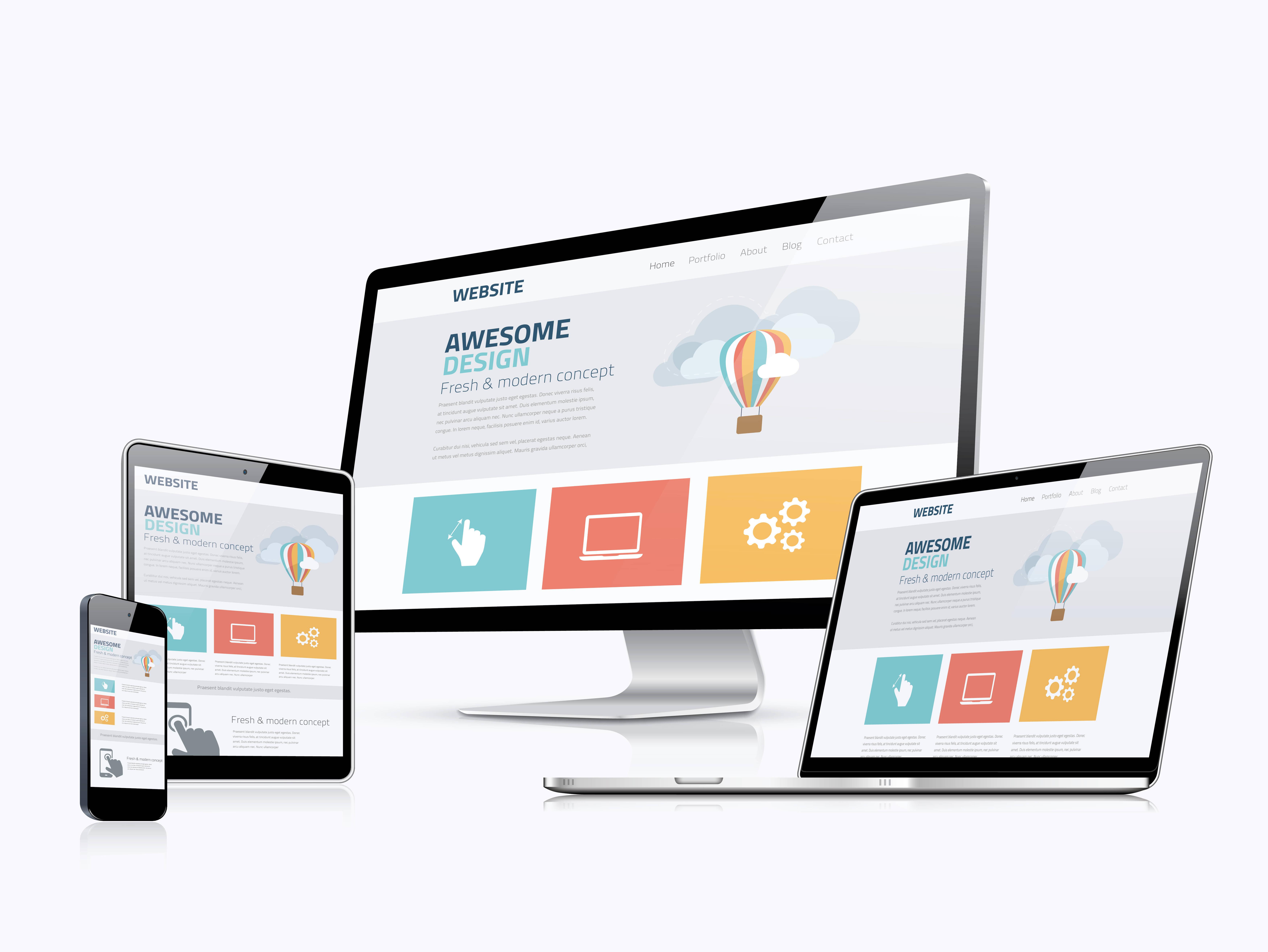 La página web y sus posibilidades. Ayudando al sector de la odontología